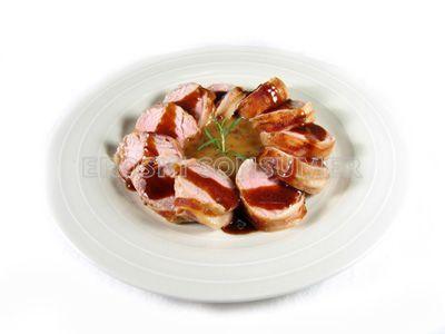 Receta de solomillo de cerdo en salsa de cebolla y manzana   EROSKI CONSUMER