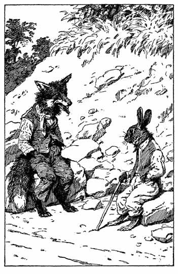 Scenes From Br Er Rabbit Stories Illustrations By A B Frost And Harry Rowntree Uncle Remus Fox Drawing Illustration