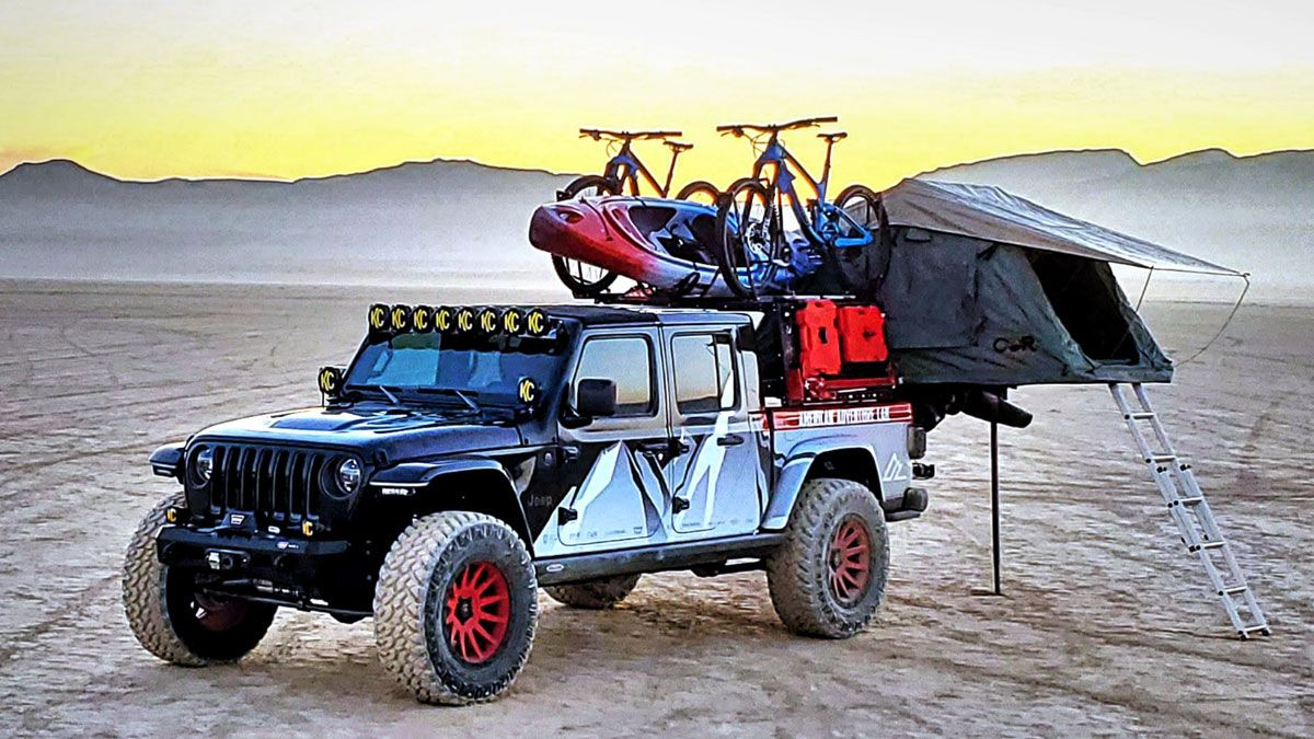 jeepgladiatorsema2019 in 2020 Jeep gladiator, Sema
