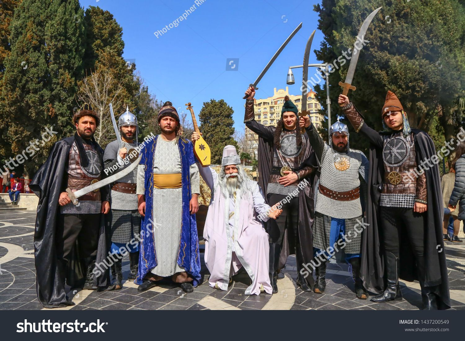 Novruz Holiday In Azerbaijan Artists Who Dance In The National Costume Which Is A Reflection Of The Wheat Grass In The Summ In 2020 Photo Editing Stock Photos Artist