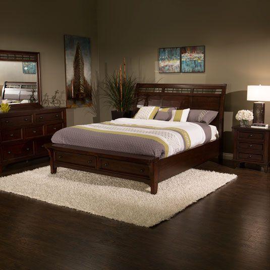 Hayden Queen Bed, Dresser, Mirror & Nightstand by Jerome\'s Furniture ...