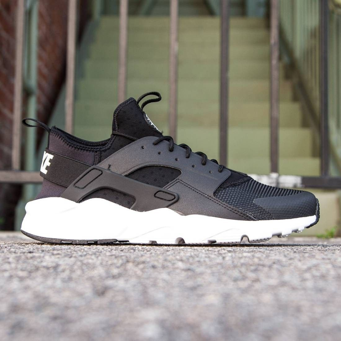 Nike Men Air Huarache Run Ultra (black/anthracite/white/white