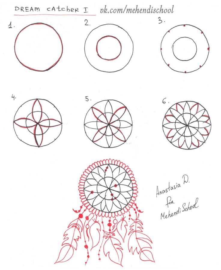 How To Draw A Simple Dream Catcher Partition manager 40 personal download Doodles Pinterest 13