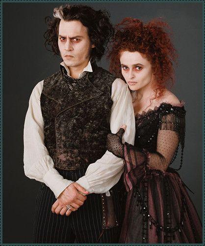 Sweeney Todd Mrs Lovett Sweeney Todd Mrs Lovett Tim Burton Johnny Depp