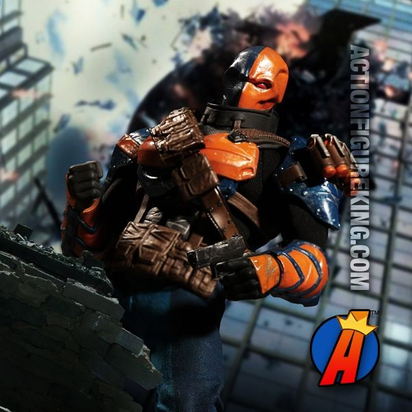 6-Inch Scale #DCComics #DEATHSTROKE #ActionFigure with highly detailed cloth uniform. See full details. Easily search thousands of new and vintage #collectibles #Toys and #ActionFigures here…