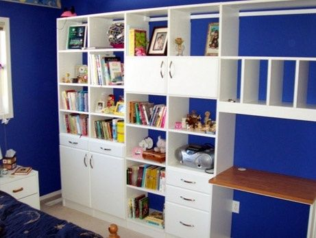 Combination Desk Dresser Bookcase And Toy Storage E Perfect For Smaller Bedrooms That