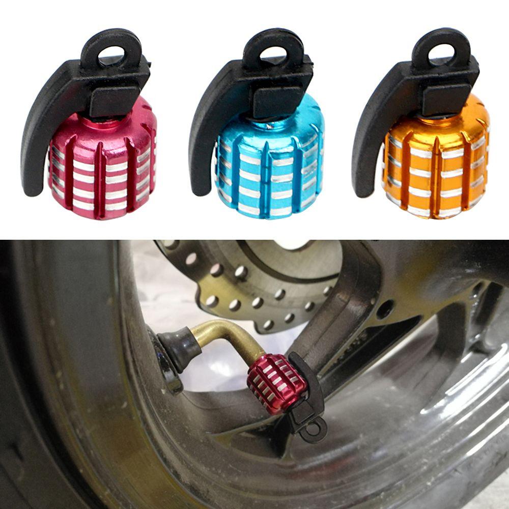 4 pcs/set Tire Wheel Valve Caps Auto Accessory Air Cap For