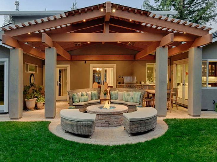 Patio Cover Designs | Furniture Ideas | Pinterest | Patios ...