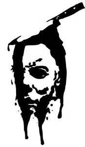 Michael Myers Silhouette Halloween Stencils Michael Myers Halloween Art