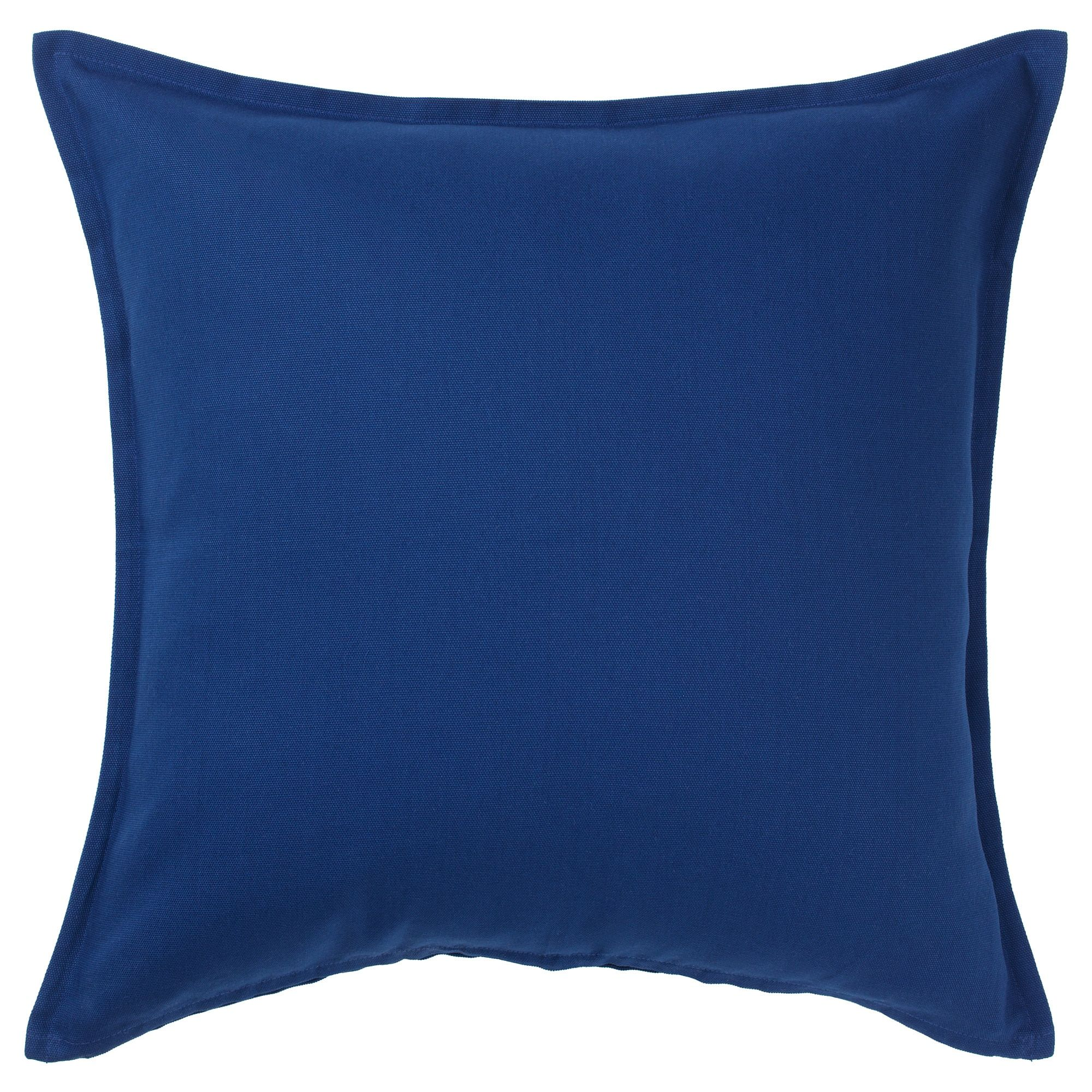 GURLI Cushion cover dark blue IKEA Cushions, Cushion