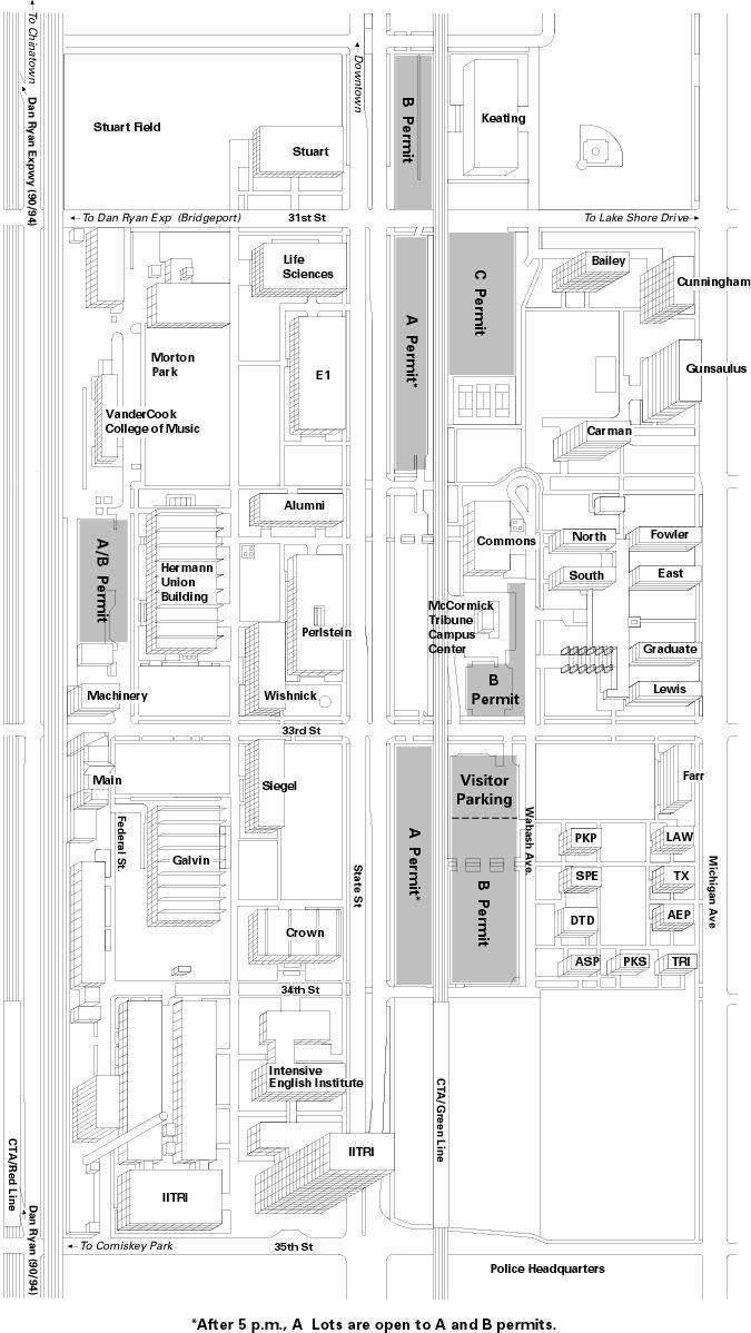 Pratt Institute Campus Map