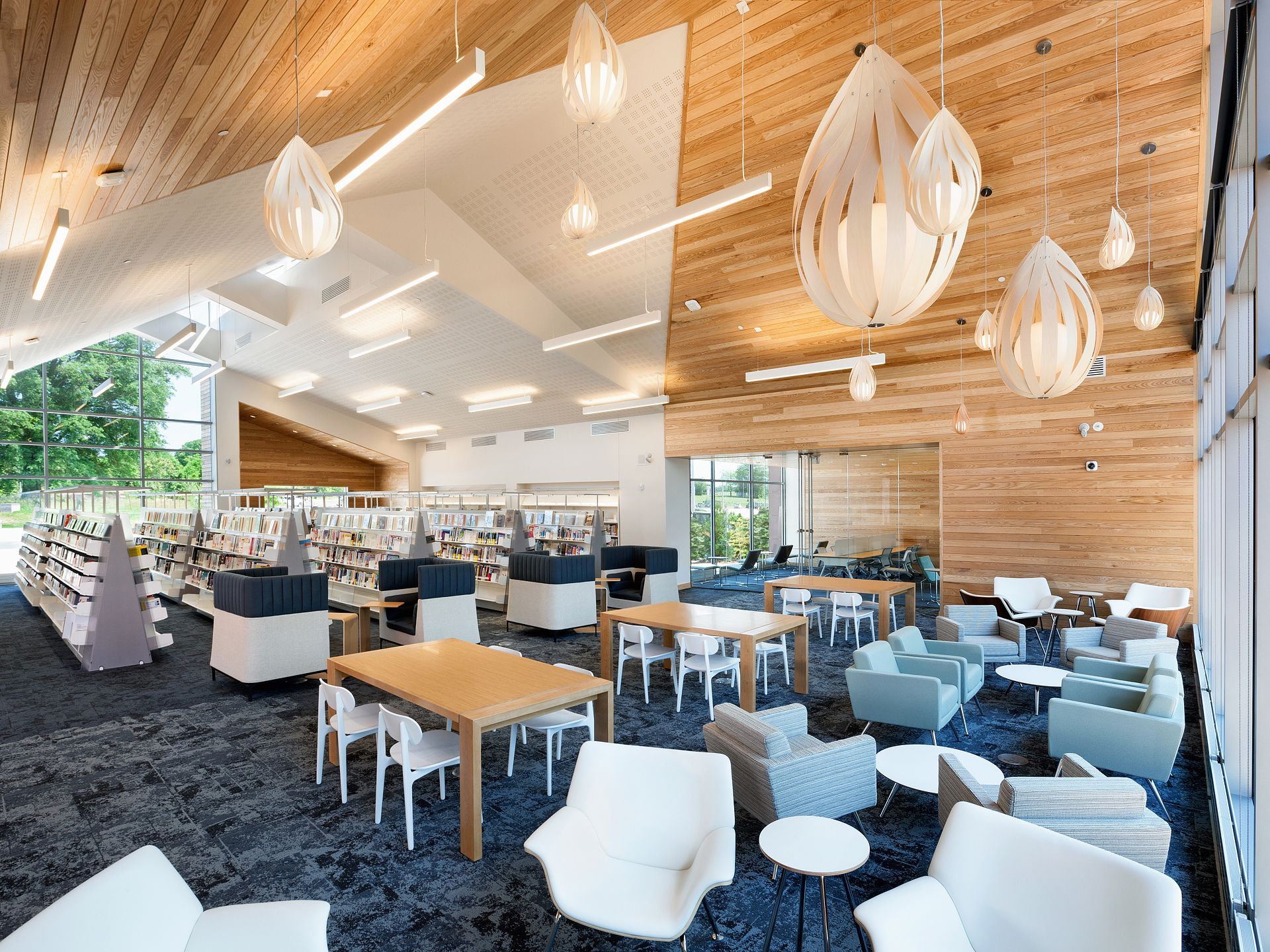 The American Institute of Architects (AIA) and the American Library Association (ALA) have selected the eight winners of the 2017 AIA/ALA Library Building Award. Photography: © Chris Cunningham – courtesy of AIA