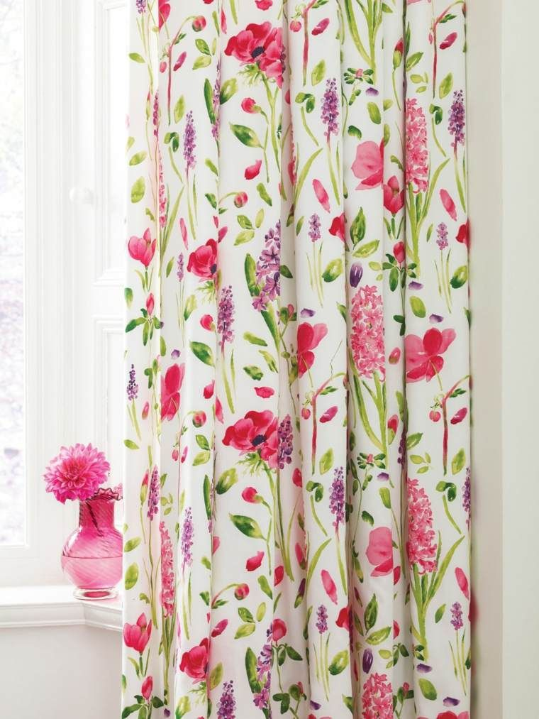 curtains lined curtains flower curtain