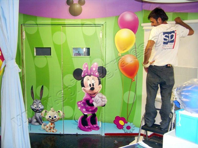 Dise o y decoraci n de interiores sp integrales vinilos - Decoracion de interiores infantil ...