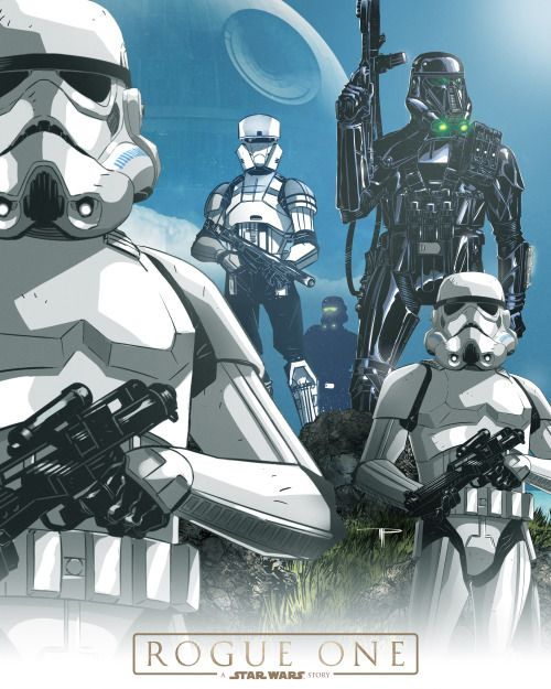 The Troopers of 'Rogue One' - Michael Pasquale