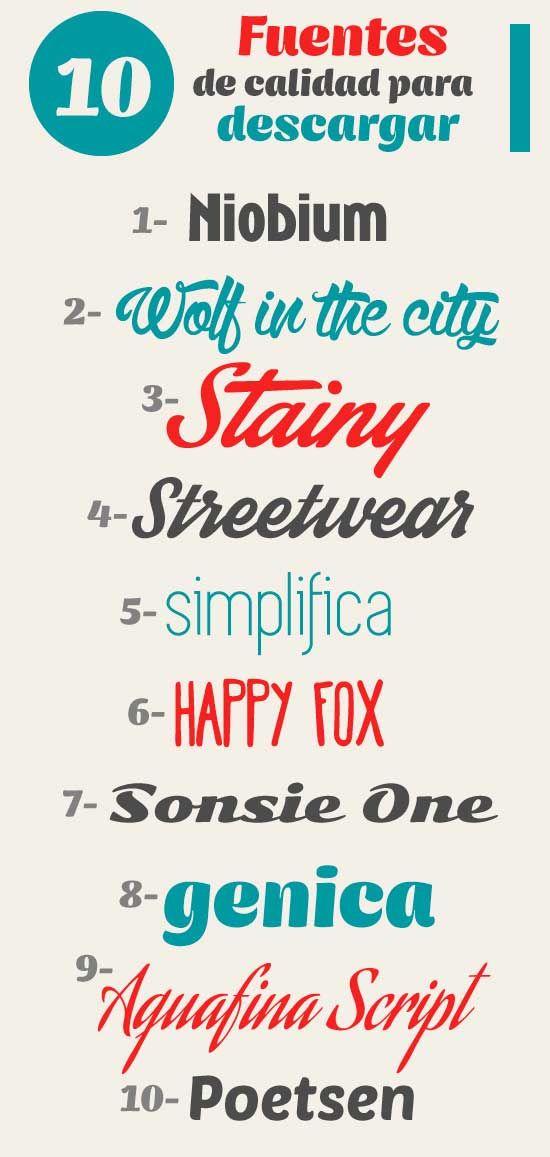 Diez Buenas Fuentes Tipográficas Libres O Gratis Para Descargar Diginota Fuentes De Letras Fuente De Letras Consejos De Diseño Gráfico