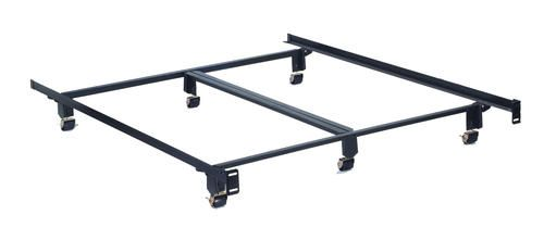 Hollywood Holly Matic Queen Size Bed Frame With Wide Rollers At