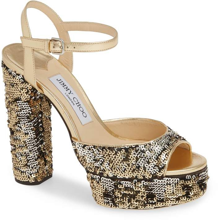 59b6d0e271e1 Jimmy Choo Peachy Platform Sandal Retro Fashion, Ootd Fashion, Long Boots,  Eve,
