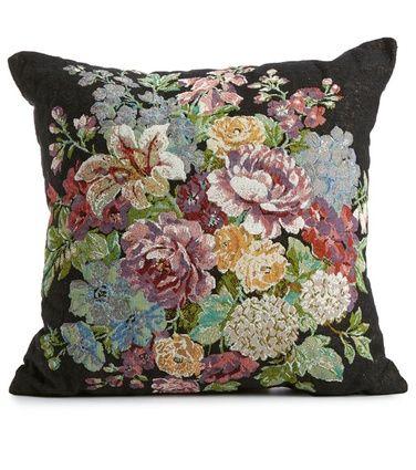 Emilia Rose -koristetyyny, musta