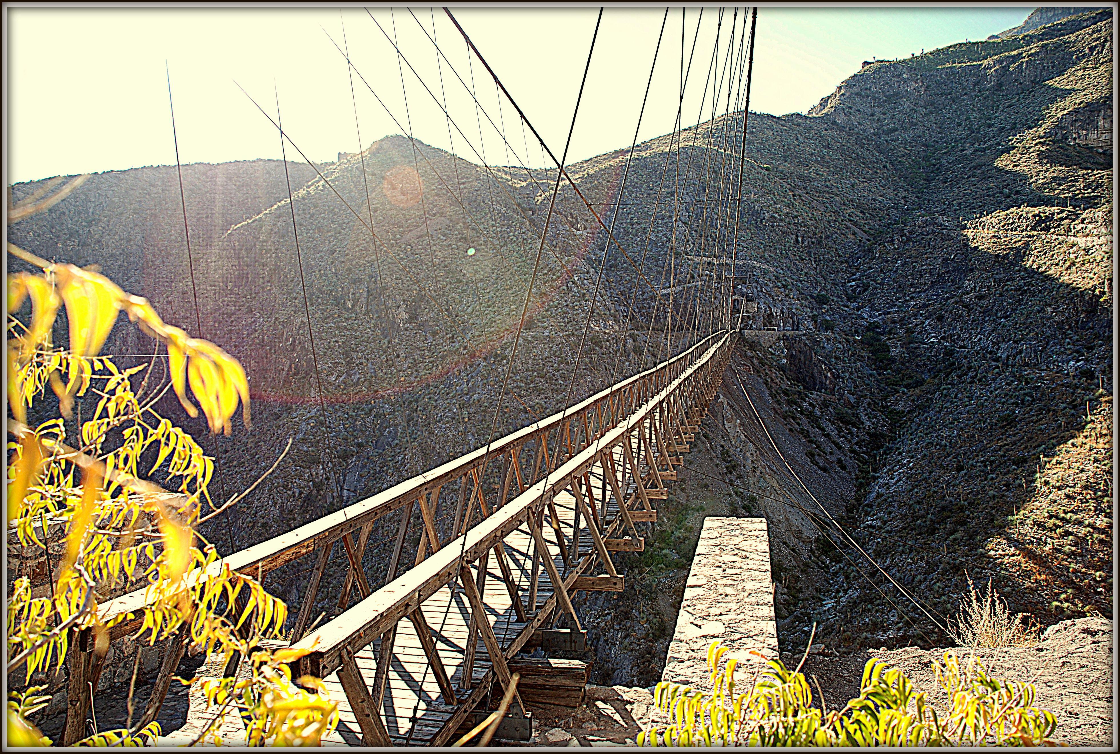 Puente de ojuela en Mapimi Durango | Puentes, Montenegro, El salvador