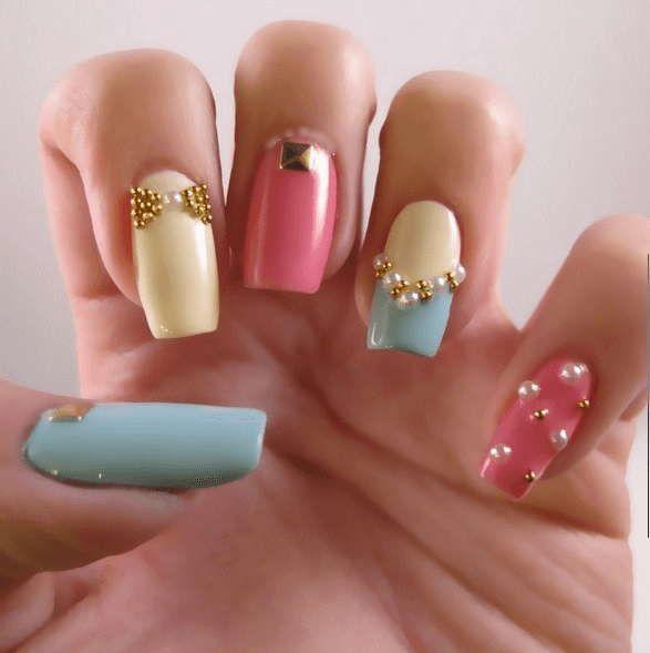 diseño de uñas elegantes | ❤❤❤...Diseños En Uñas...❤❤❤ | Pinterest
