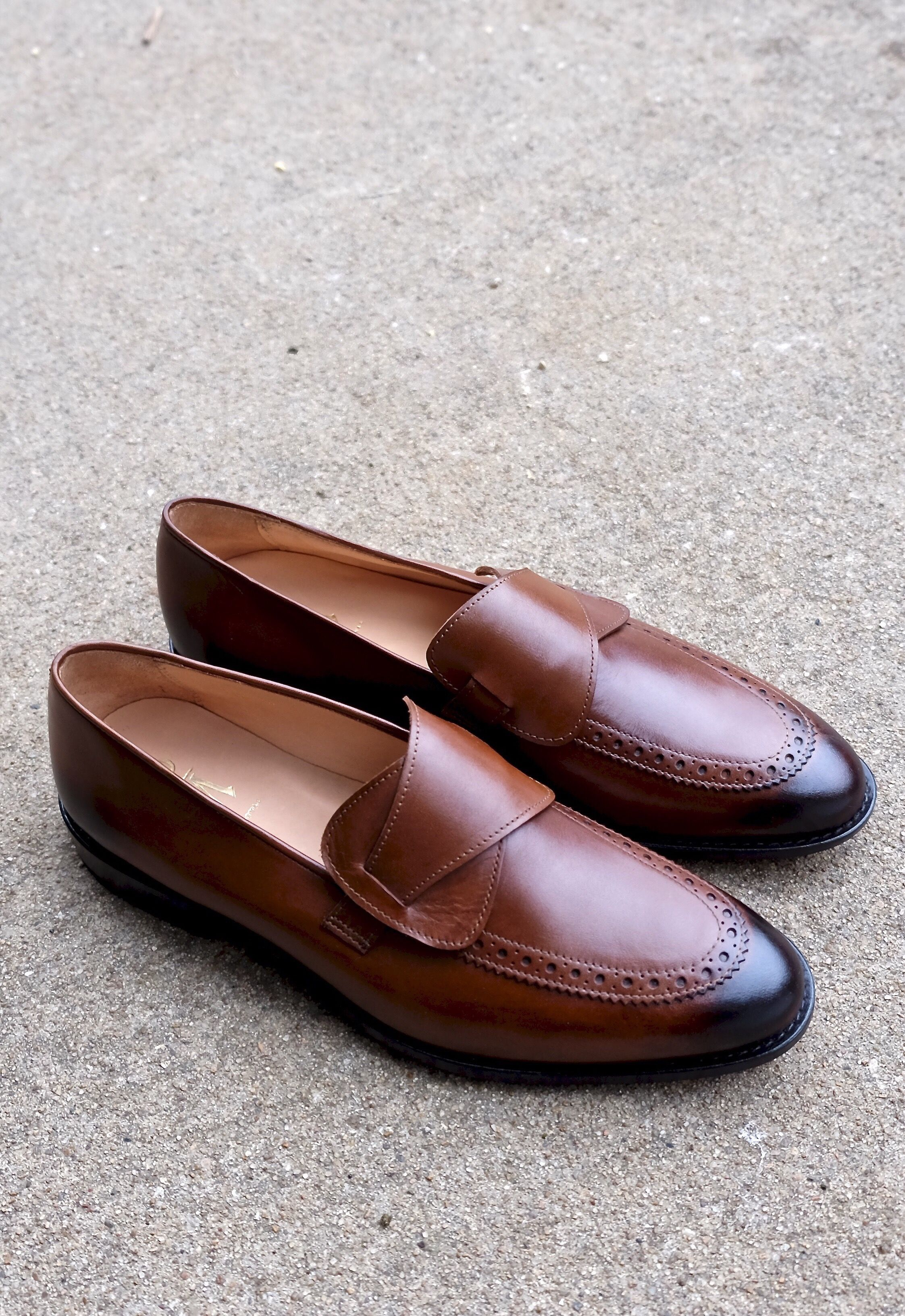 Butterfly Loafers - Brown | Formal