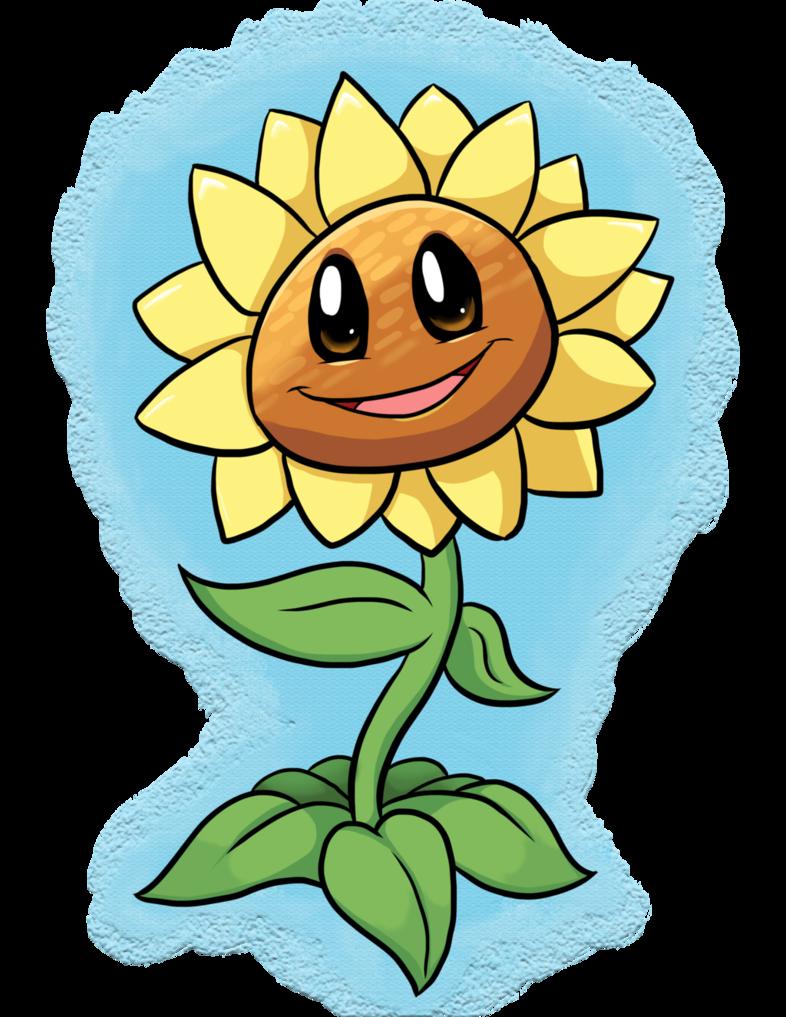 Sunflower By Luckynight48 Deviantart Com On Deviantart Plants Vs Zombies Dragon City Zombie