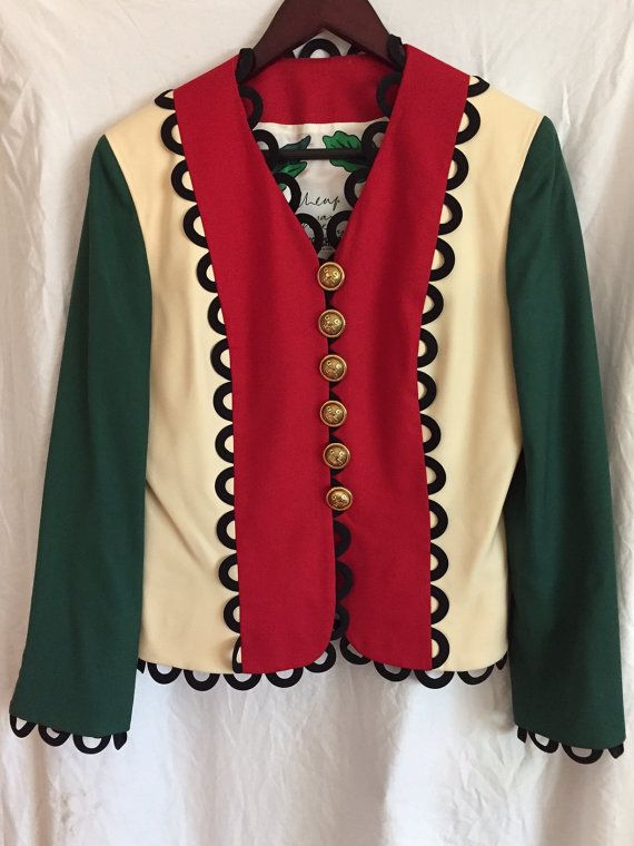 ee607f8d96 Vintage Moschino Jacket from the Cheap and Chic Collection, made of wool  with rayon lining. Excellent condition