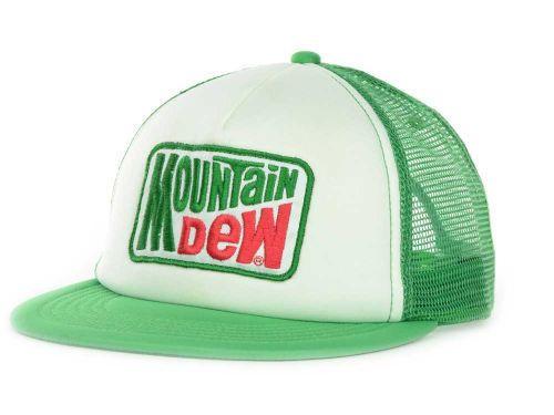 7e1a0367b0350 Mountain Dew Logo Soda Foam Trucker Hat Cap Snapback Adjustable One Size  Adult  MountainDew  Trucker
