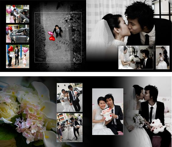Beautiful Wedding Album Design 3 4