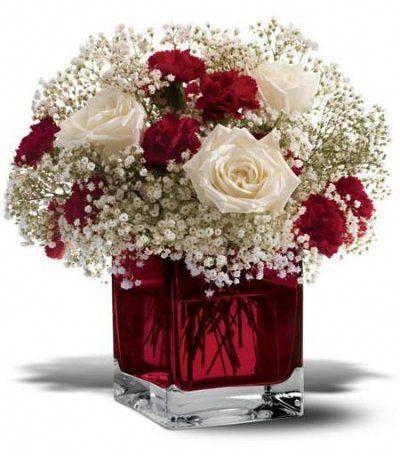 Valentines Day Vase Filler Ideas
