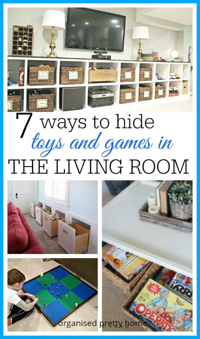 Living Room Toy Storage Ideas Organised Pretty Home Family Friendly Living Room Kid Friendly Living Room Living Room Toy Storage