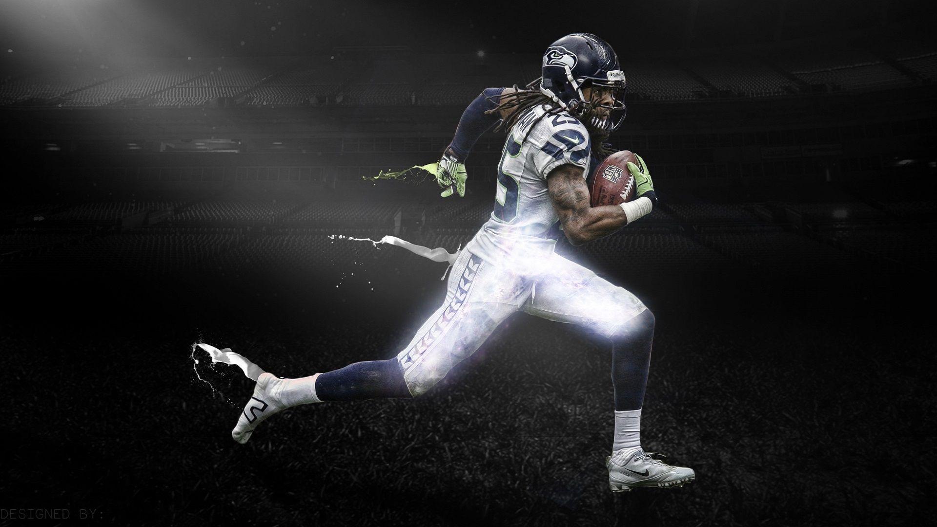 Richard Sherman Wallpaper Free Backgrounds Desktop Widescreen Sports Wallpapers