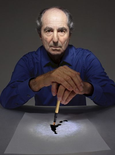 Philip Roth, photogrpahed by Ethan Hill
