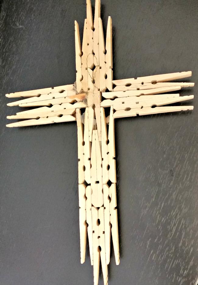 Homemade Holiday Gift: Wooden Cross | cross crafts ...