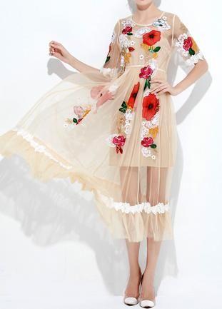 Koktajlowa Sukienka Letnia Zwiewna Kwiaty Lux Real 6884757415 Oficjalne Archiwum Allegro Dresses Fashion Cover Up