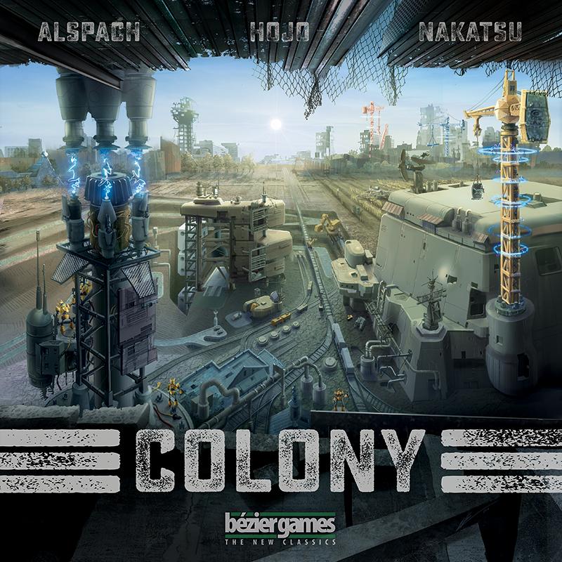 Colony Board games, Colonial, City buildings