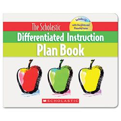 Differentiated Instruction Plan Book With Cd