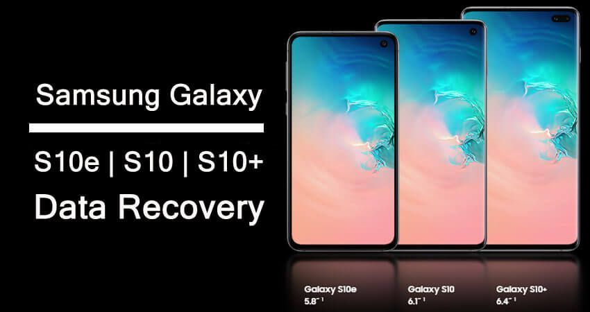 How To #Recover Deleted #Data From #Samsung #GalaxyS10e/S10
