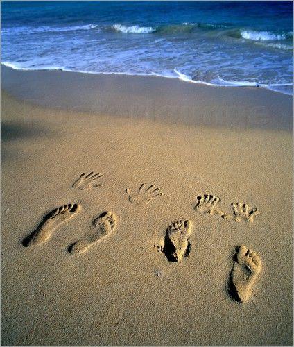 fu stapfen in sand strand hawaii douglas peebles fotoshooting pinterest fotoideen. Black Bedroom Furniture Sets. Home Design Ideas