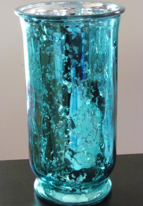 Pin By Sonia Rumzi On Aqua Teal Turquoise Tiffany Blue Mercury Glass Decor Mercury Glass