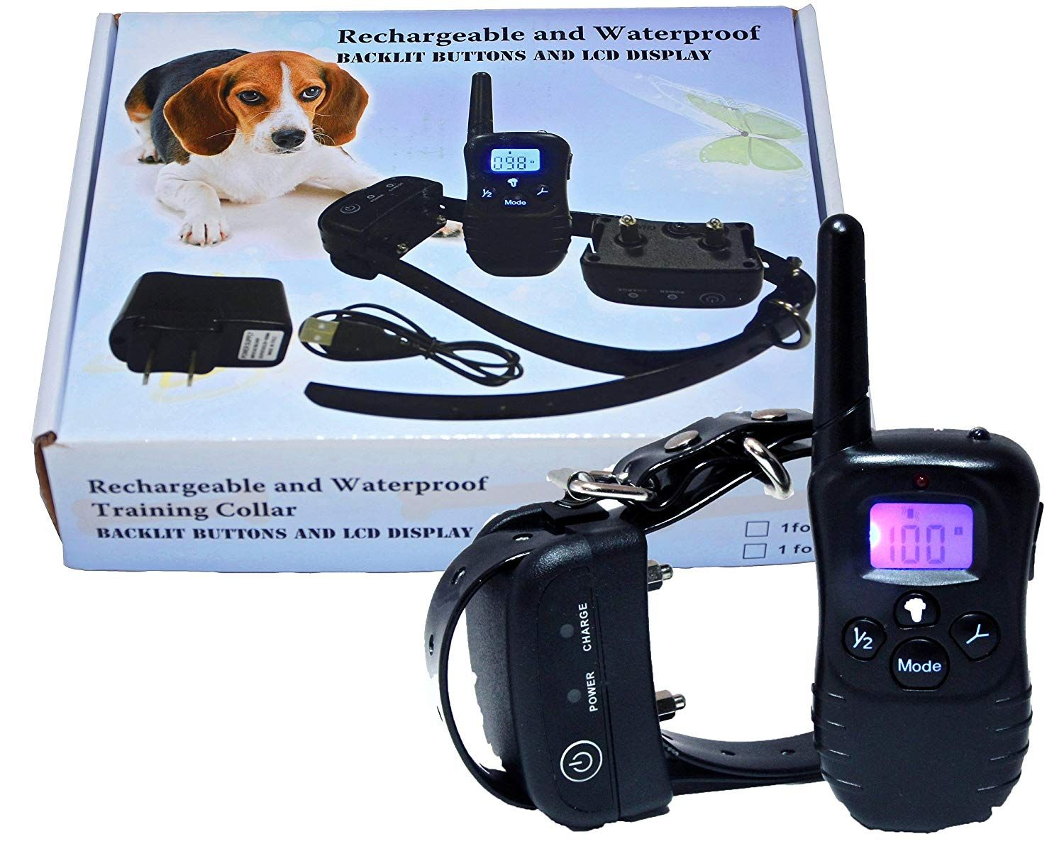 Fully Submersible Waterproof And Rechargeable Remote Dog Training