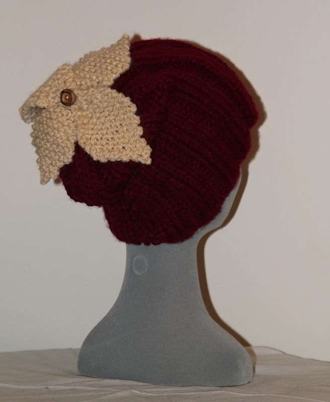 shivering sheep flower design baggy beanie,In many colours