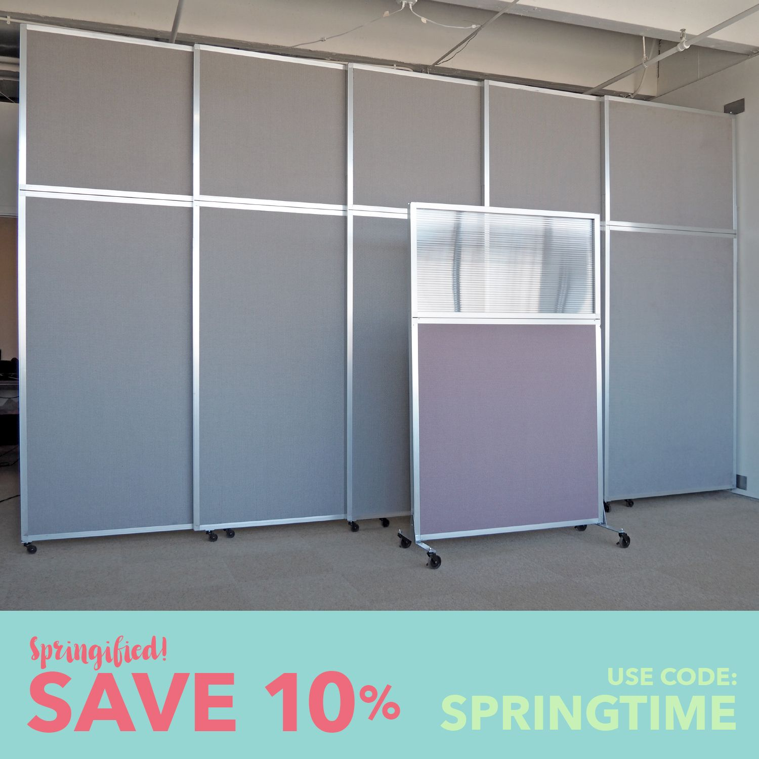 Repurpose your office or retail space with an extra large room