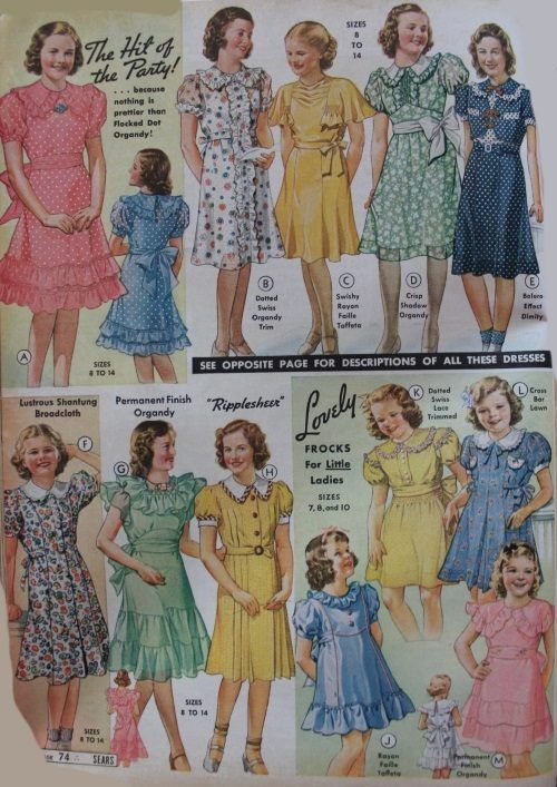 3c33c7bb5 Vintage Children's Clothing Pictures & Shopping Guide | Kids Vintage ...