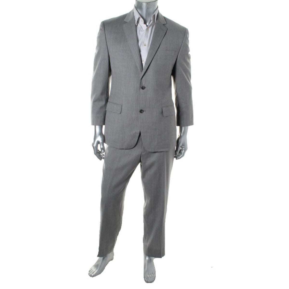 MICHAEL Michael Kors Mens Wool 2PC Two-Button Suit