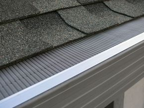 Interior Gutter Protection With A Solid Structure And Sturdy Safety And Fiber Channel Hard For Different Type Gutter Protection Cleaning Gutters Gutter Guard