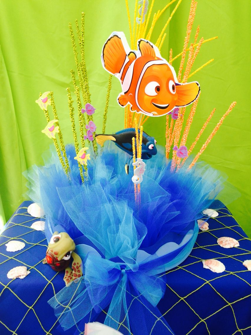 Nemo Candy Table Decorations Fiesta Cumpleaos