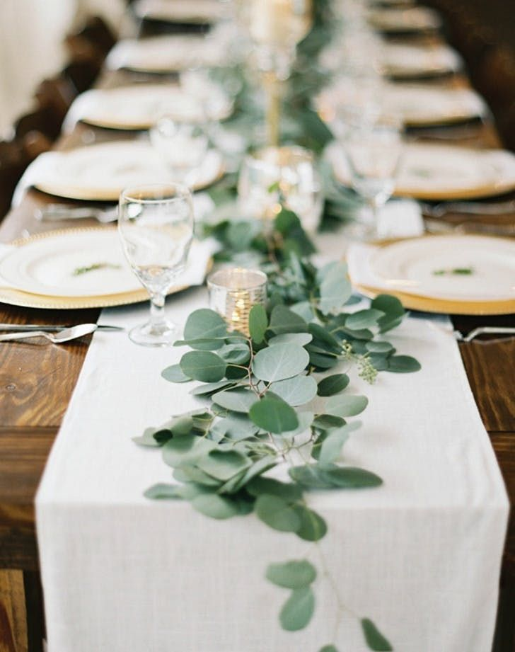 12 Nontraditional Wedding Ideas That Will Make You Want To Redo Your Pinterest Boards Nontraditional Wedding Table Runners Wedding Long Table Wedding