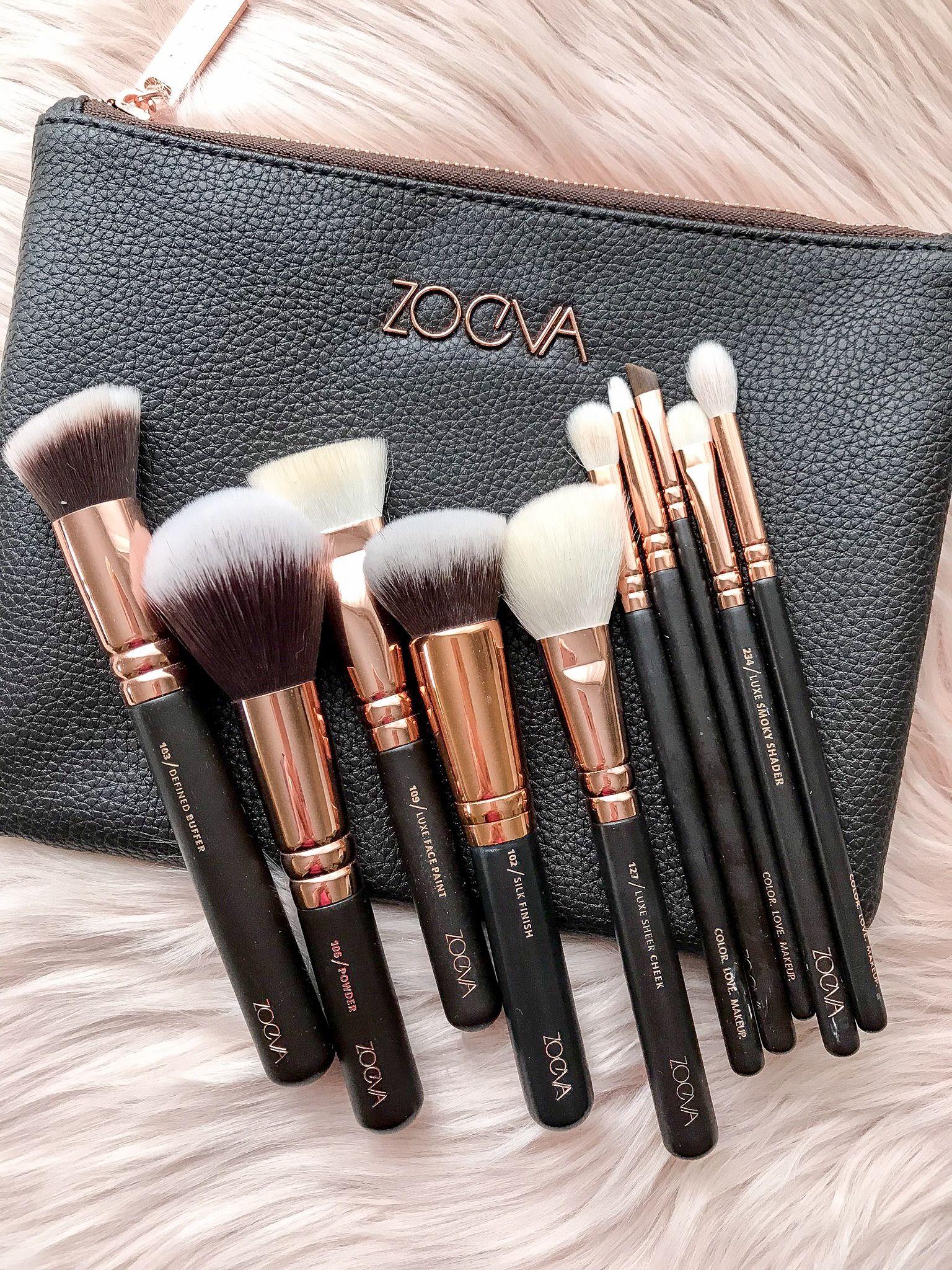 Zoeva Rose Golden Luxury Set #Ad #Cosmeticbrushes #Makeupbrushes #Zoeva #
